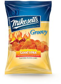Good'n Hot Groovy Potato Chips