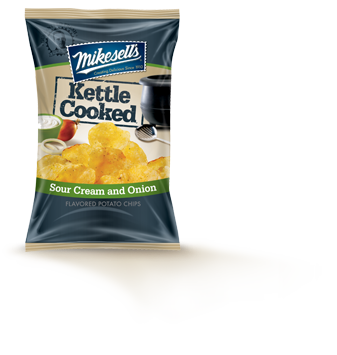 Sour Cream & Onion  Kettle Cooked Potato Chips