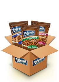 Pretzels (Pre-Packed Mixed Case)